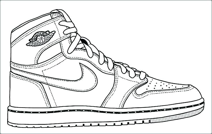 736x466 Air Jordan Coloring Book Interesting Design Coloring Page Air