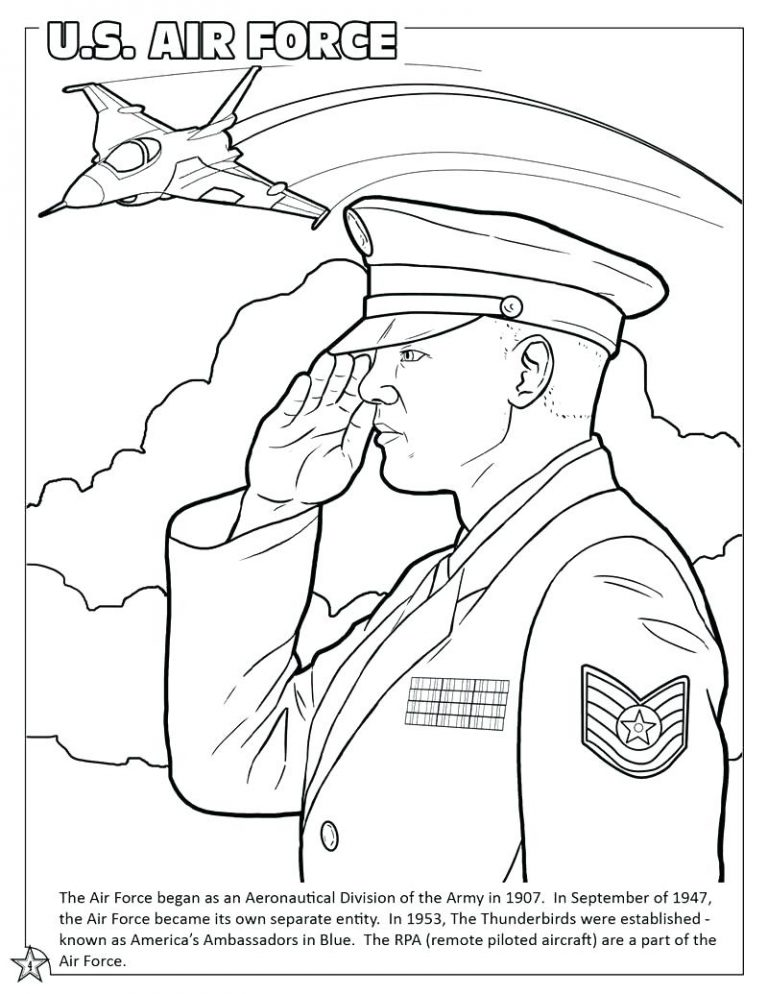 768x994 Us Air Force Coloring Pages Fresh Book Army Man Salvation Military