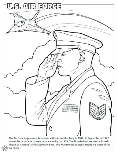 386x500 Coloring Page Air Force Coloring Pages Us Page Army Air Force