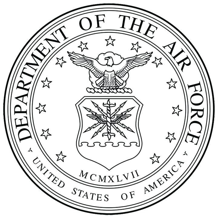 720x720 Air Force Airplane Coloring Pages Kids Coloring Air Force Seal