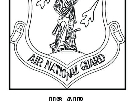 440x330 Magnificent Exciting Air Force Coloring Pages New Insignia Page