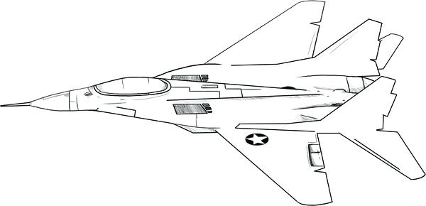 600x290 Air Force Coloring Pages Royal Air Force Colouring Sheets
