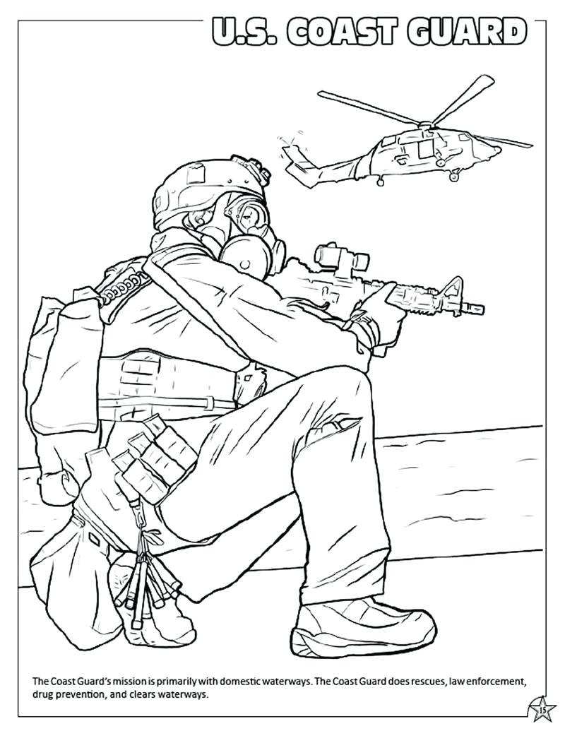 800x1035 Enormous Coast Guard Coloring Pages Page Air Force Us Army
