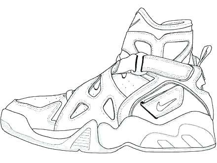 440x330 Air Force Coloring Pages Air Force Shoes Coloring Pages Kids