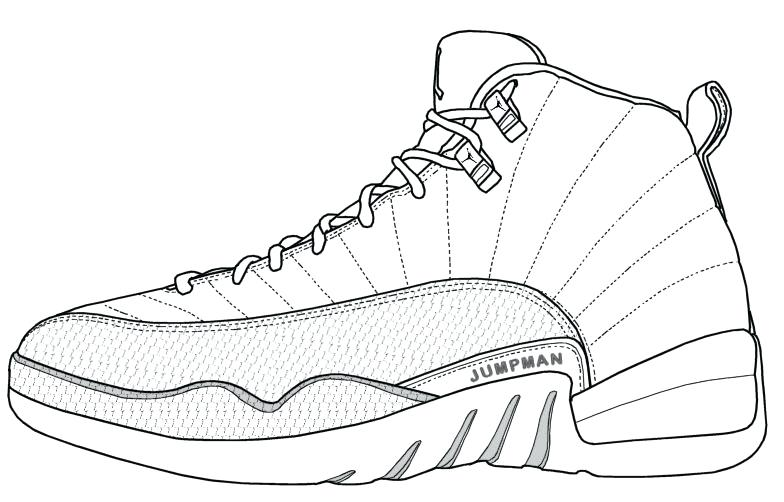 784x502 Air Jordan Coloring Pages Shoes Kids Coloring Shoes Coloring