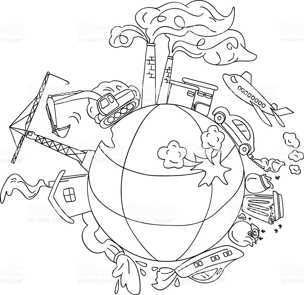 1024x994 Compromise Air Pollution Coloring Pages Page