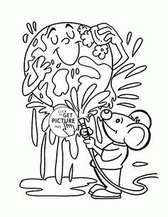 236x305 Earth Day Coloring Pages Earth