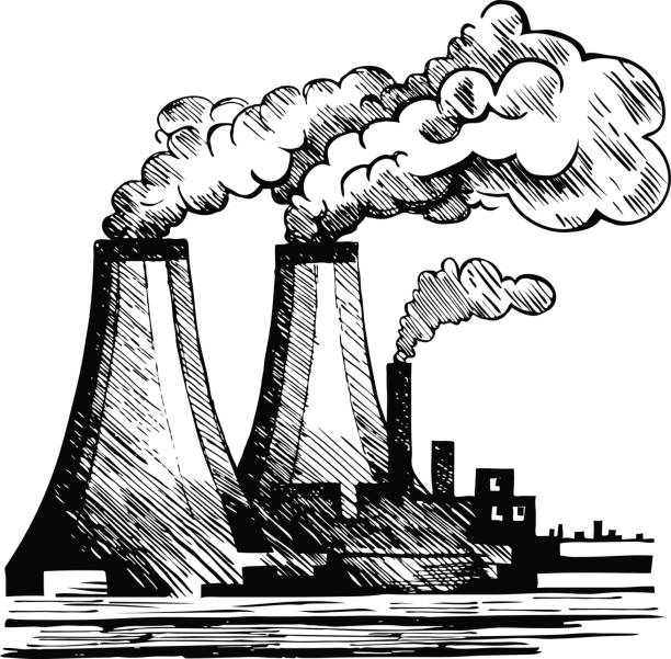 612x601 Environmental Pollution Clipart Black And White