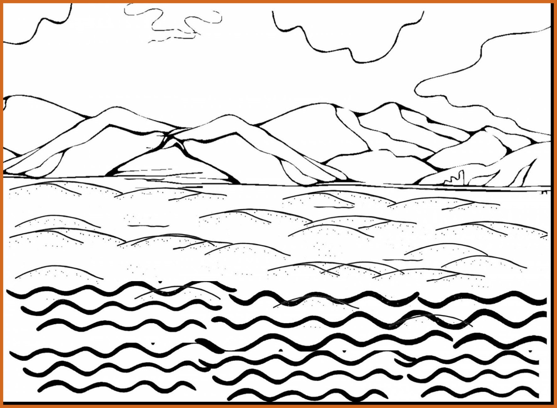 1780x1303 Stunning Water Coloring Pages Alphabrainsz Net Of Pollution Ideas