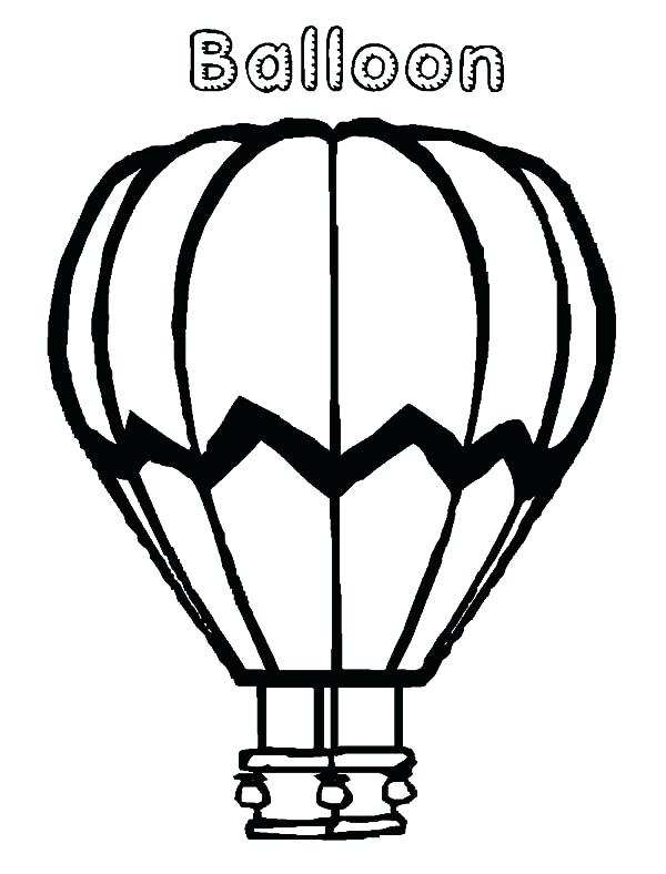 600x788 Hot Air Balloon Coloring Pages Coloring Page Hot Air Balloon