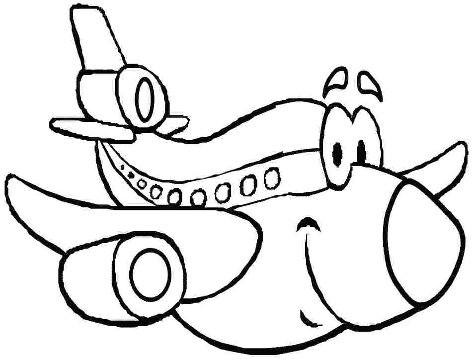 950x724 Plane Coloring Pages Transportation Coloring Transportation