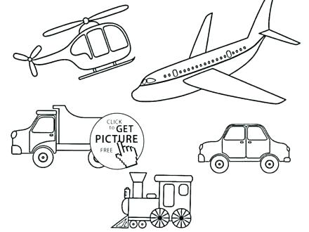 440x330 Transport Coloring Pages Transport Coloring Pages Transportation