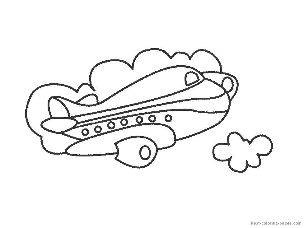 Air Transportation Coloring Pages at GetDrawings.com | Free for ...