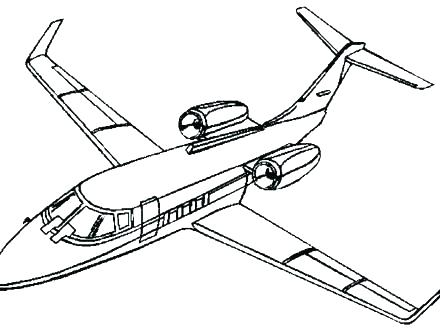 440x330 Airplane Color Pages Airplane Color Pages Coloring Pages Aeroplane