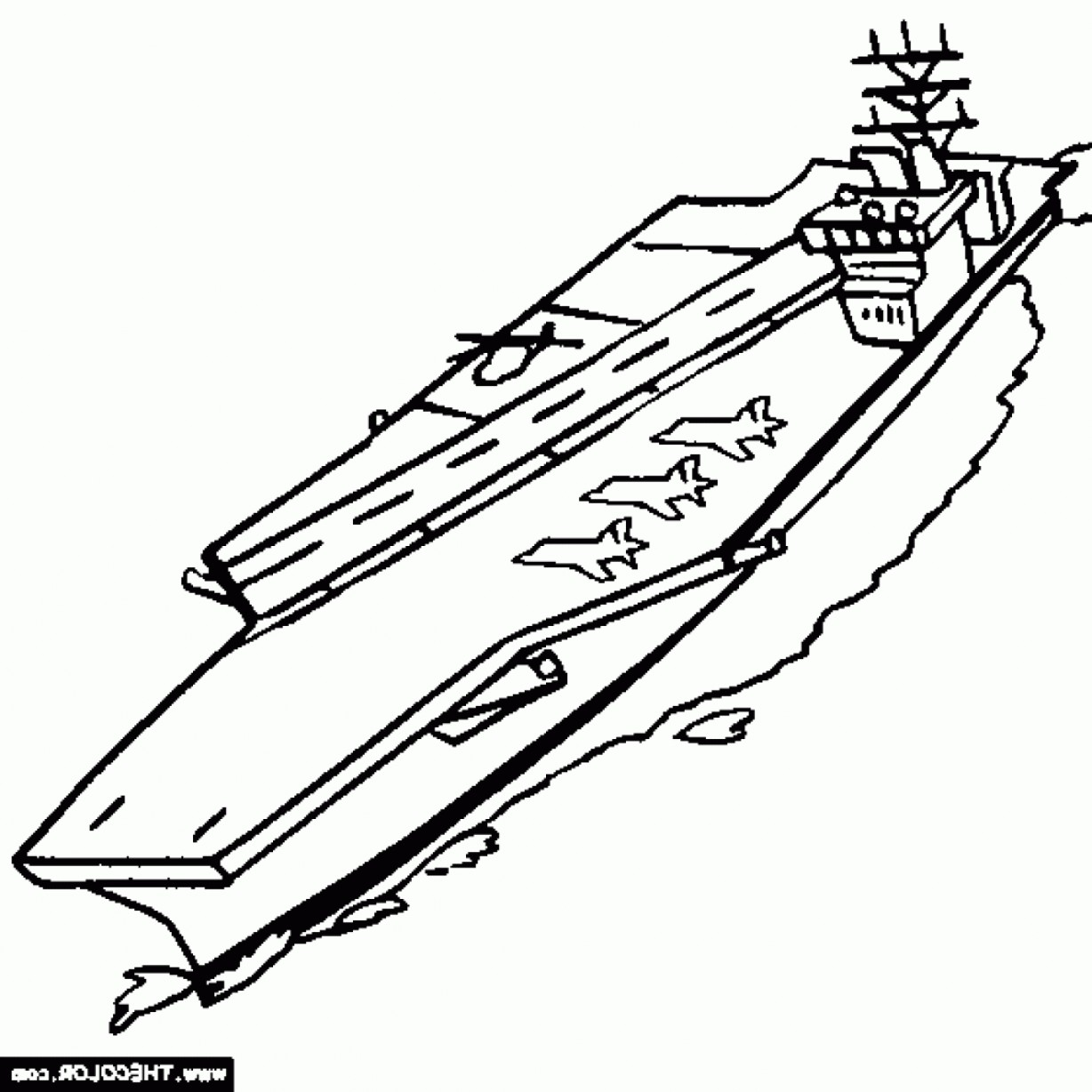 1228x1228 Uss Nimitz Aircraft Carrier Coloring Page For Aircraft Carrier