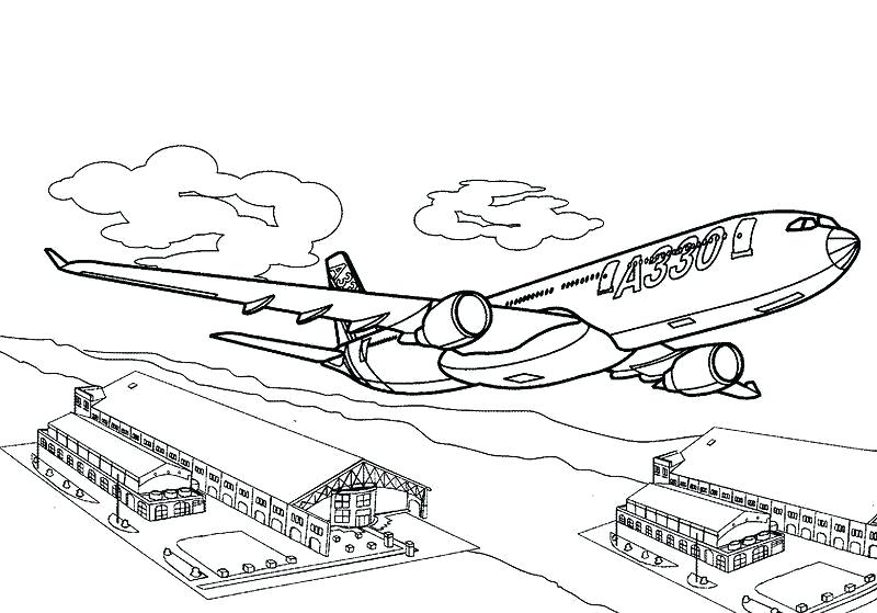 800x559 Planes Coloring Pages Murs