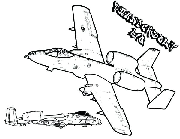 600x464 Airplane Coloring Pages To Print For Free Bomber B Page