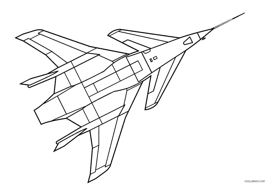 1050x711 Airplane Pictures To Color Also Airplane Coloring Pages Airplane