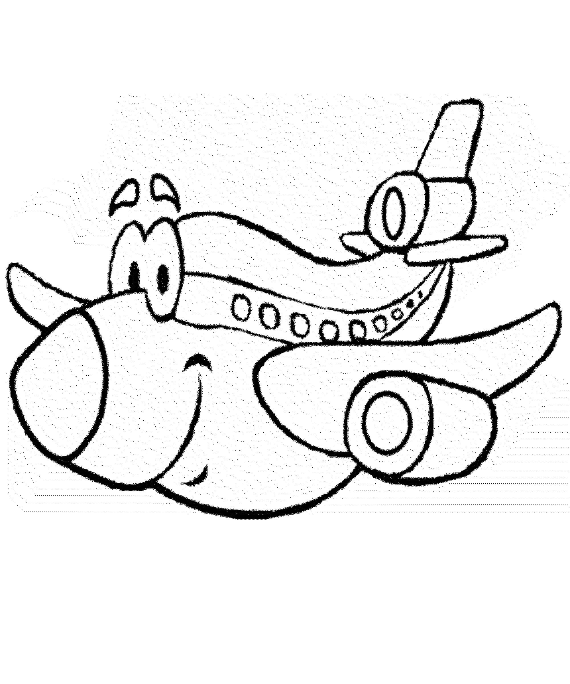 2000x2400 Security Airplane Coloring Pages For Preschool Acpra