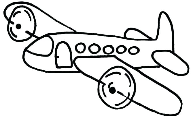 663x404 Airplane Coloring Pages Airplane Coloring Pages To Print Airplane