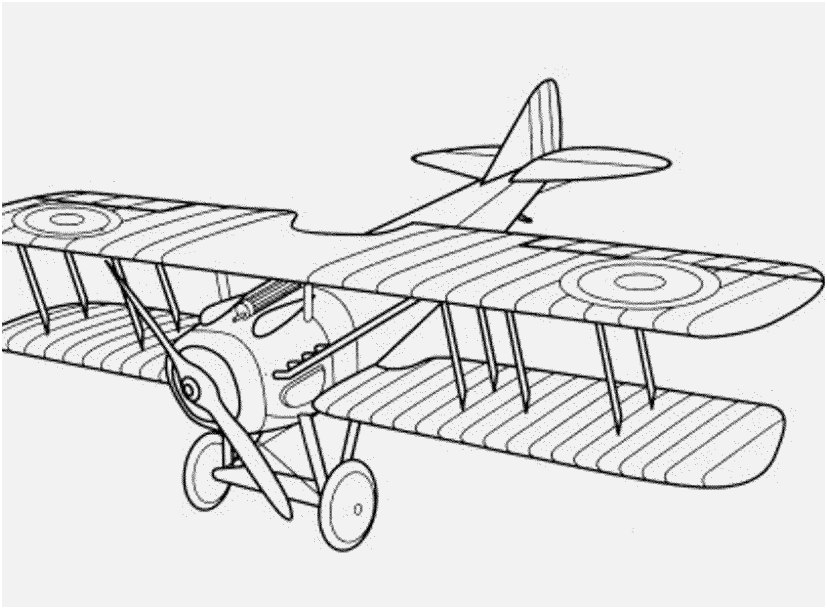 827x609 Airplane Coloring Pages Concept Vintage Airplane Coloring Pages