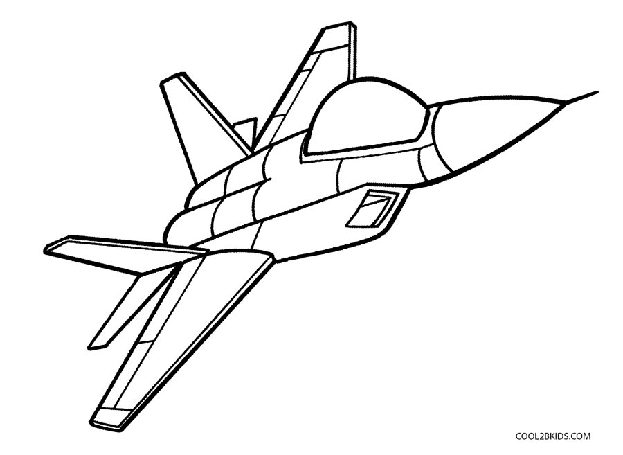 900x657 Free Printable Airplane Coloring Pages For Kids