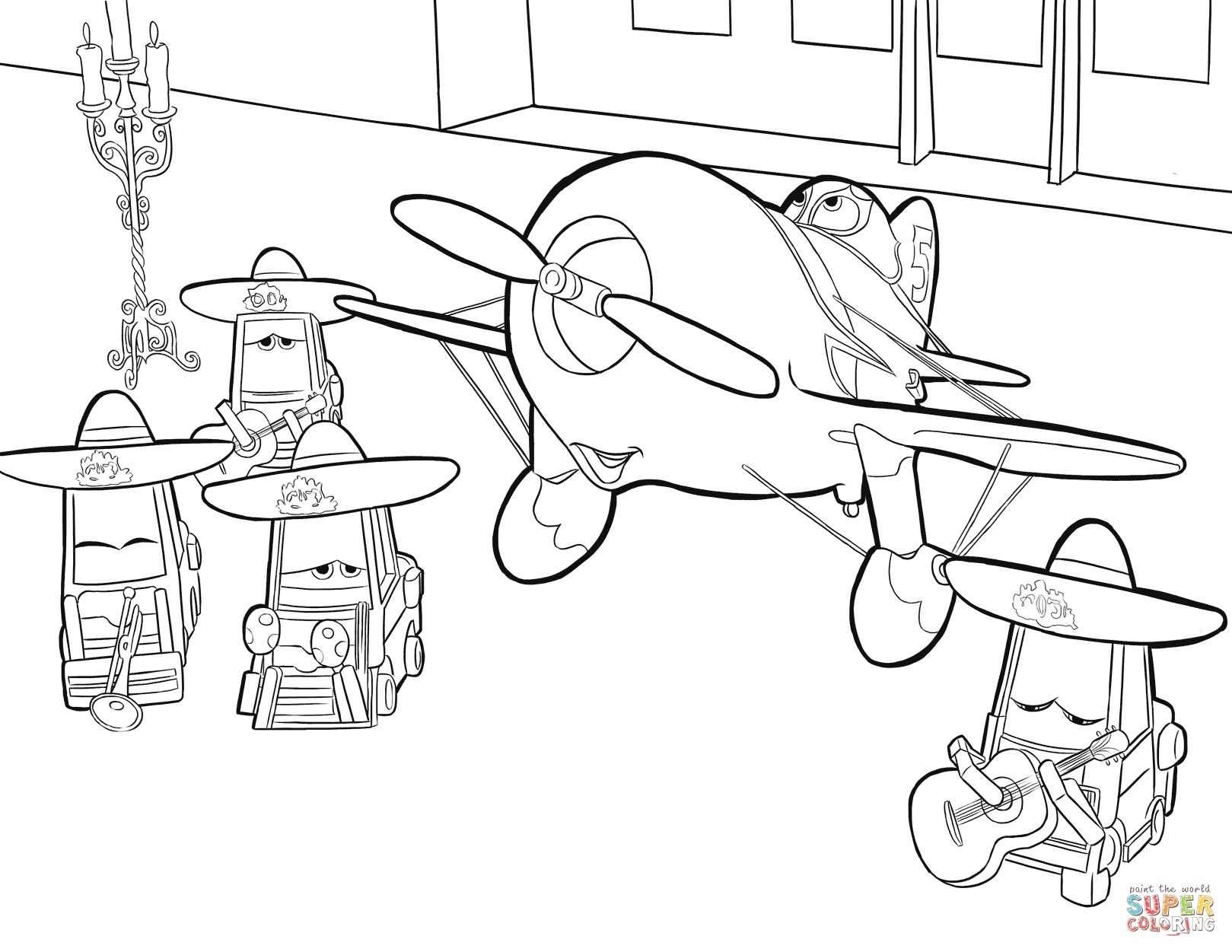 1619x1251 Free Printable Cartoon Airplane Coloring Pages Printable