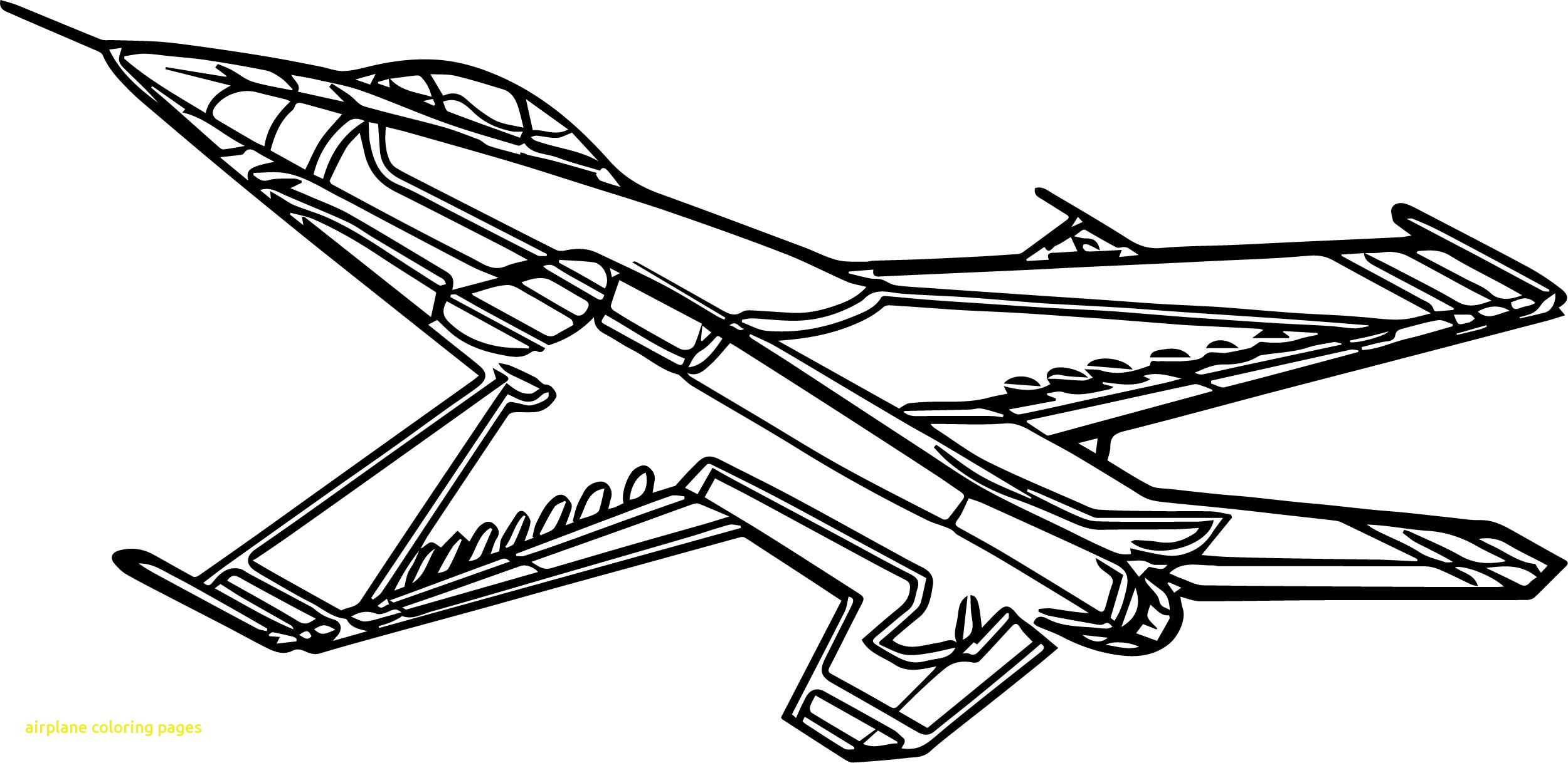 2500x1218 Airplane Coloring Page Pages With Ribsvigyapan Airplane