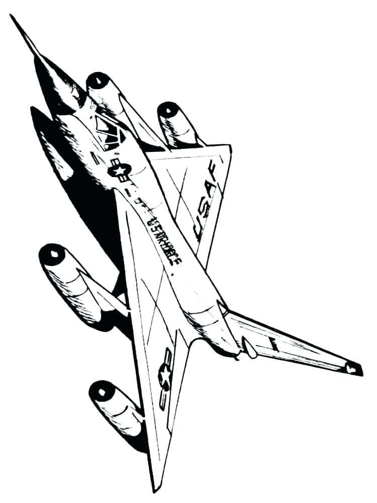 750x1000 Airplane Coloring Picture Coloring Page Airplane Fighter Jet