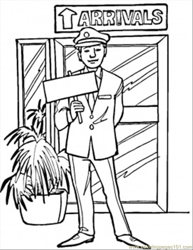 650x839 Arrivals Rport Coloring Page
