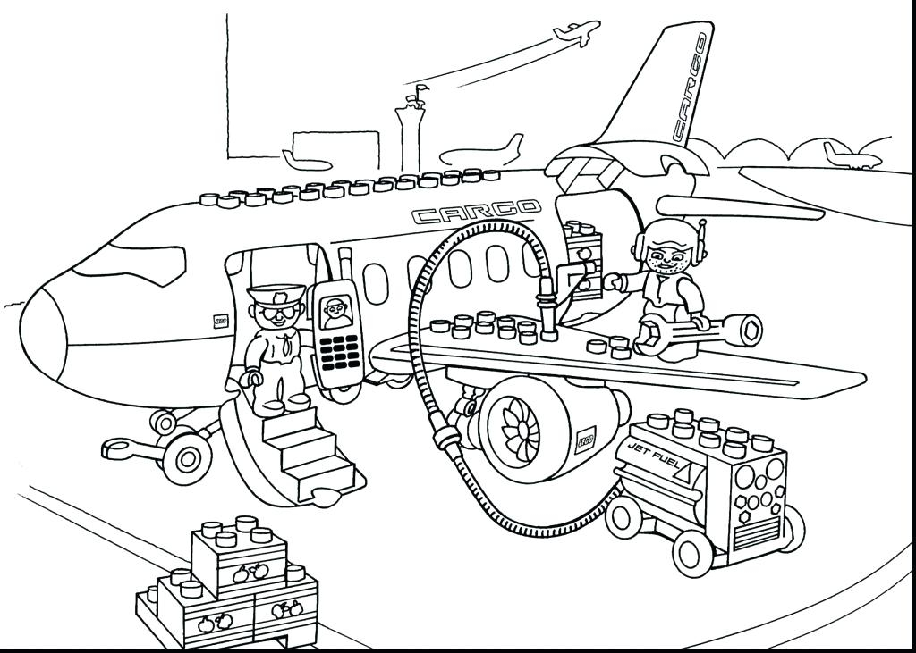 1024x731 Coloring Pages City Coloring Pages Airport Page For Kids Free