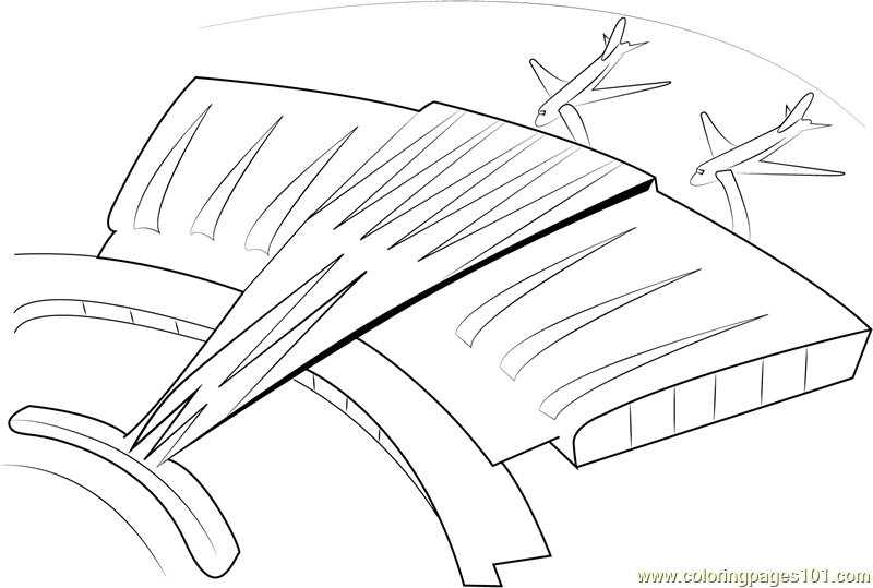 800x539 International Airport Coloring Page Free Airport Coloring Pages