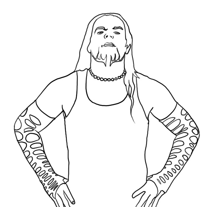 700x700 Unbelievable Wwe Coloring Pages Printable Roman Reigns Of Belts