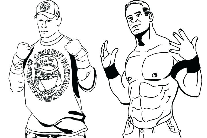 720x480 Wwe Color Pages Coloring Pages Coloring Page Coloring Pages