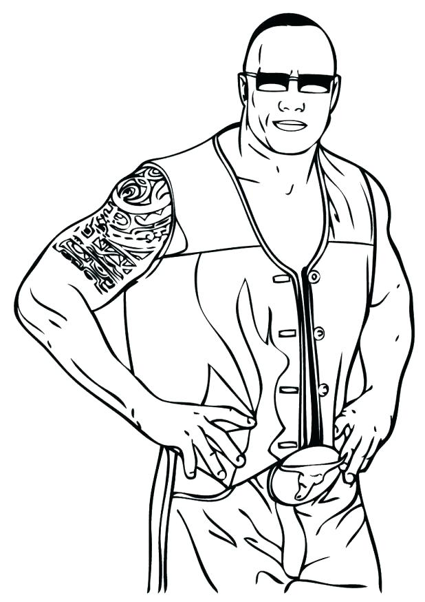 618x874 Wwe Color Pages Coloring Pages Fascinating Coloring Pages Coloring