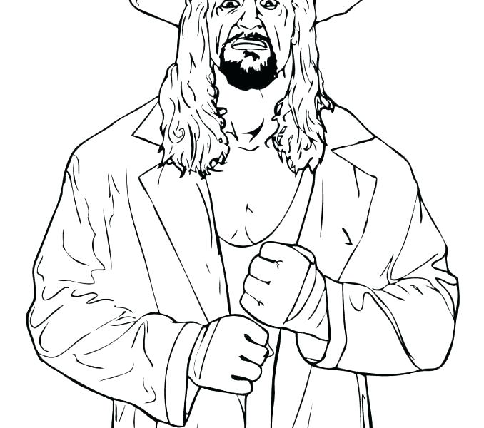 678x600 Wwe Coloring Sheets Coloring Book The Rock Pages Free Printable