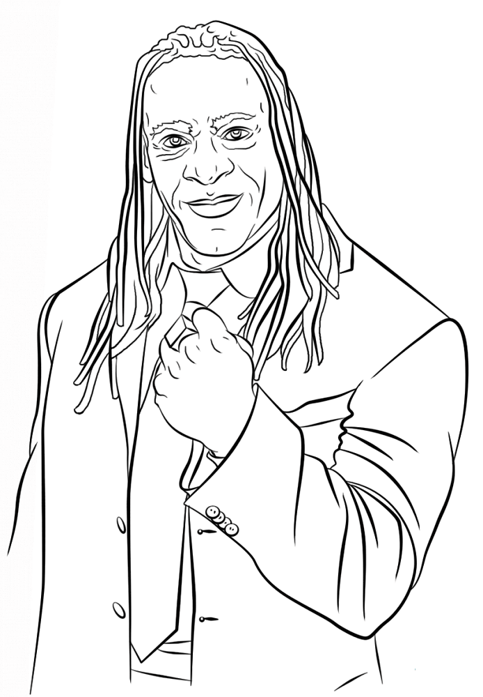 694x1000 Free Printable World Wrestling Entertainment Or Wwe Coloring Pages