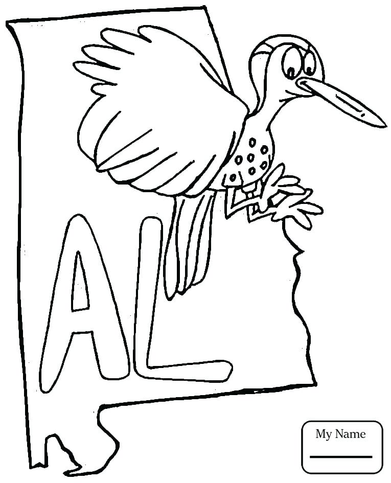 765x945 Alabama State Symbols Coloring Pages Countries Cultures Flower