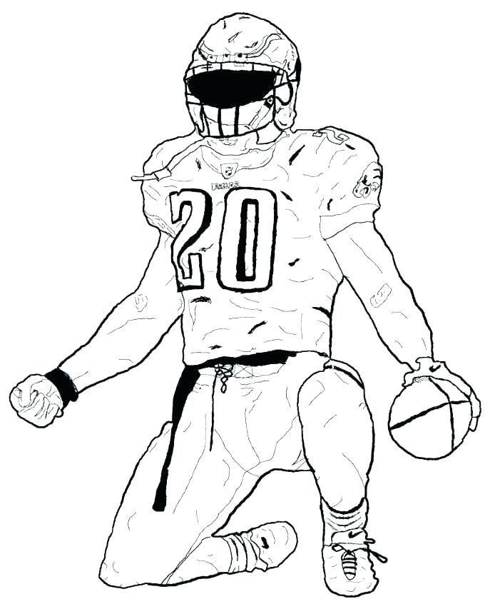 687x853 Alabama Football Coloring Pages Printable Football Coloring Pages