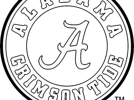 440x330 Alabama Crimson Tide Football Coloring Pages Staggering Free