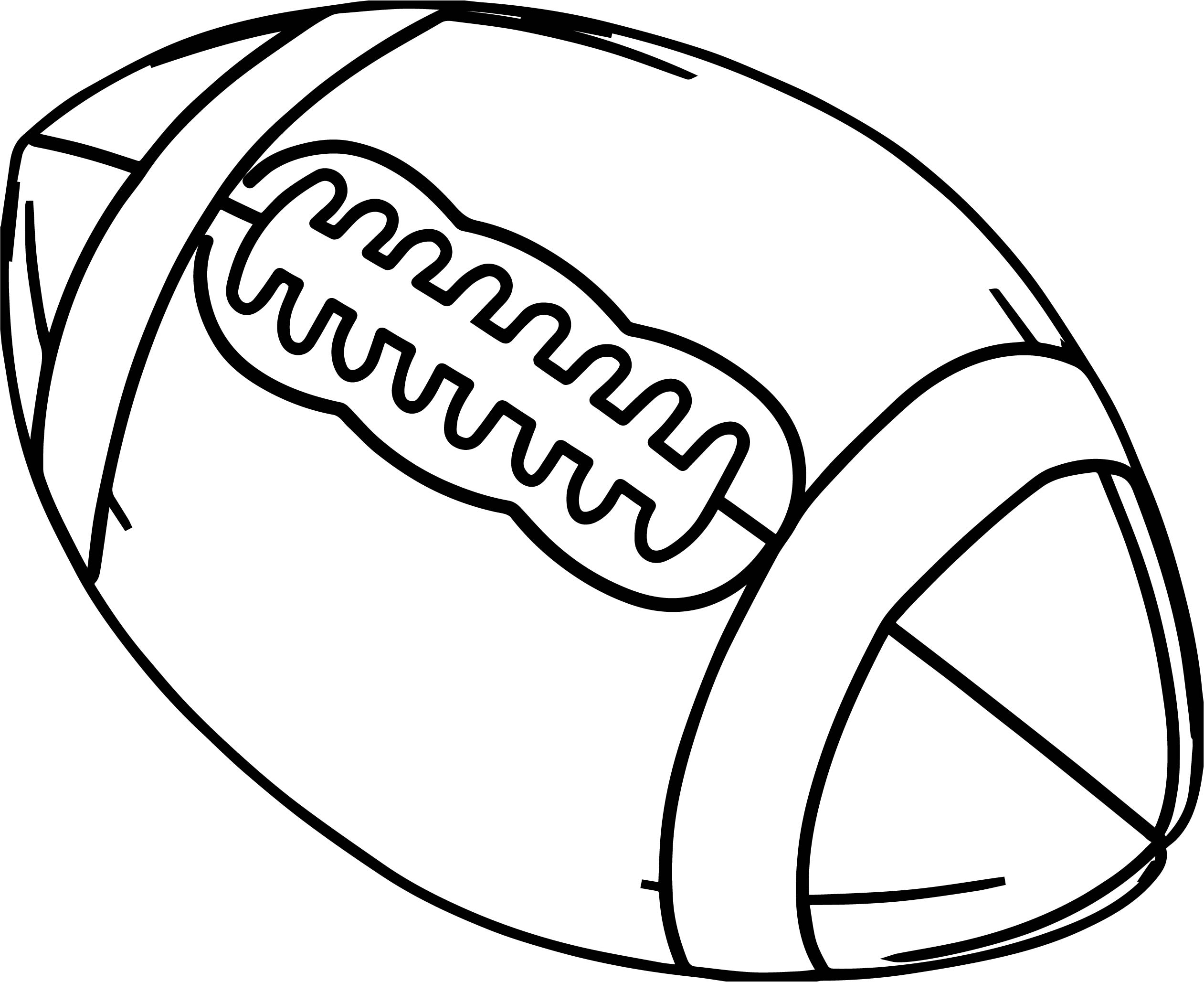 2522x2056 Alabama Football Ball Coloring Page Wecoloringpage