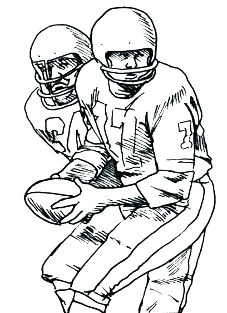 743x1024 Printable Alabama Football Coloring Pages Player Free Two Page