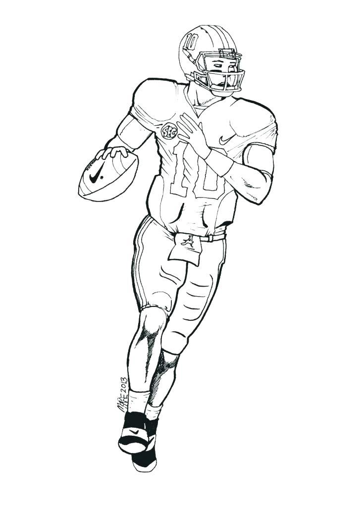 727x1024 Alabama Football Coloring Pages Football Coloring Pages Football