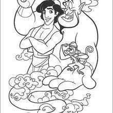 Aladdin Coloring Pages At Getdrawings Com Free For Personal Use