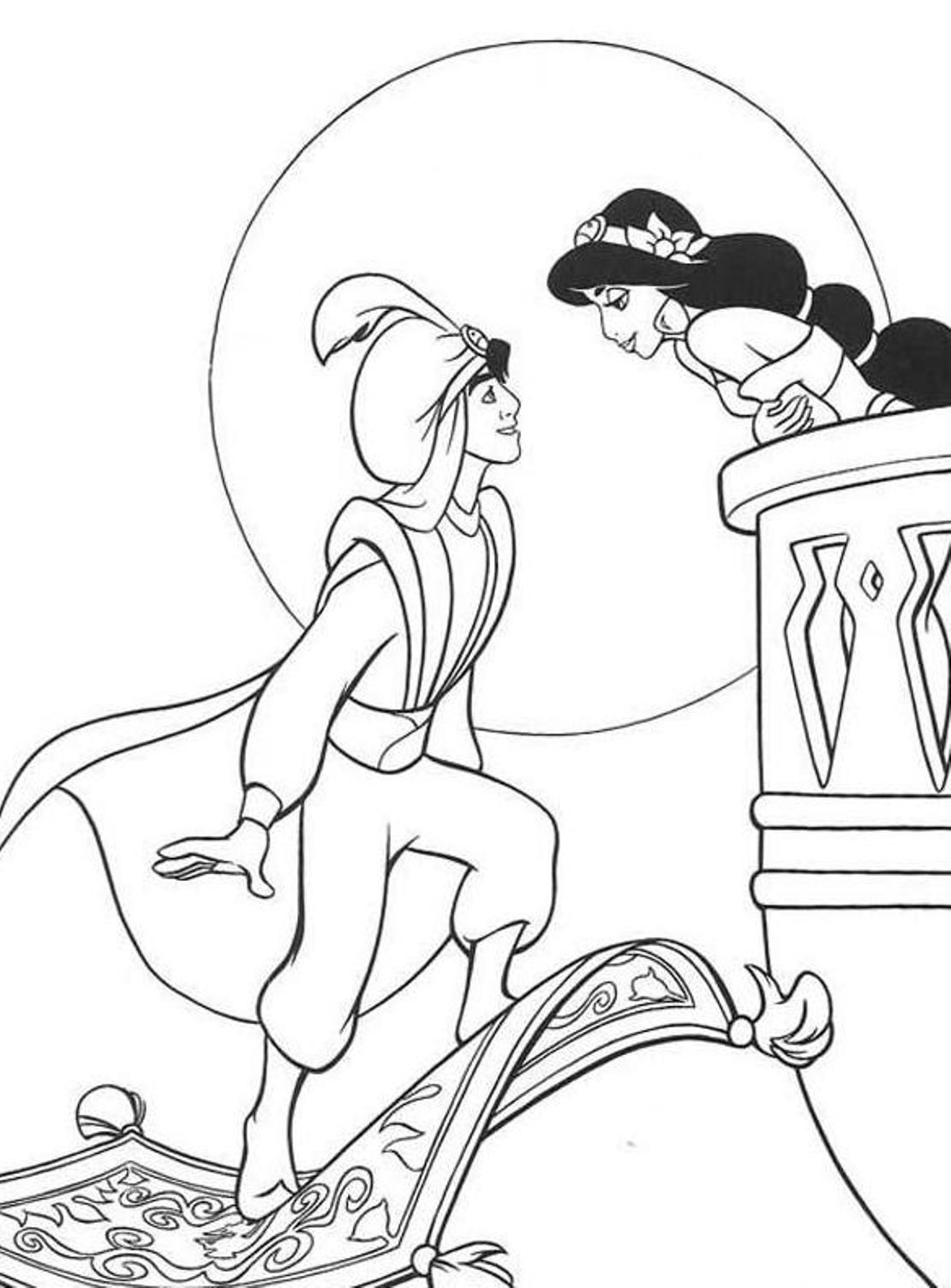 1110x1503 Aladdin Coloring Pages Beautiful Aladdin Coloring Pages Logo