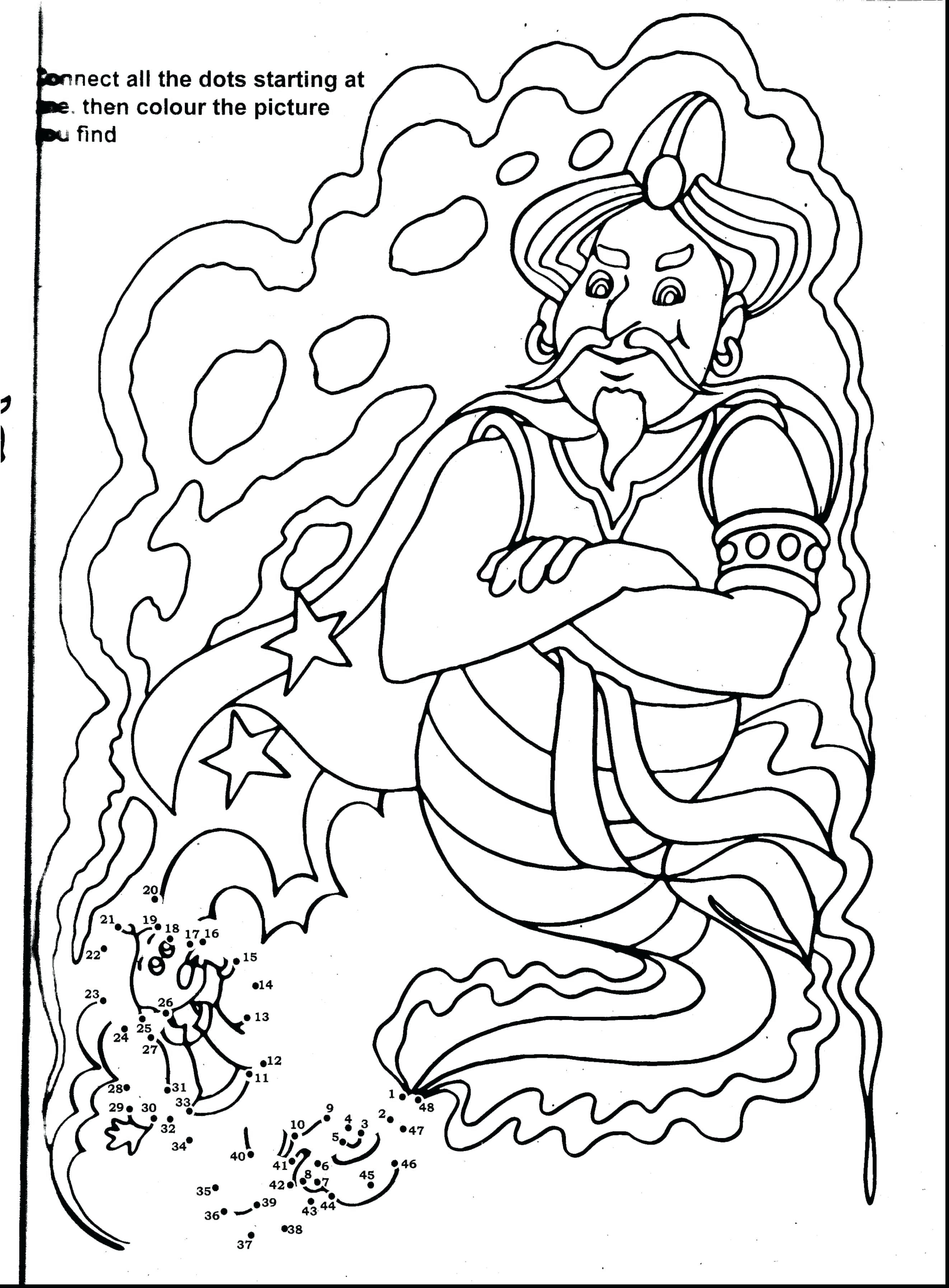 2644x3590 Aladdin Coloring Pages Online Fresh Coloring Disney Aladdin