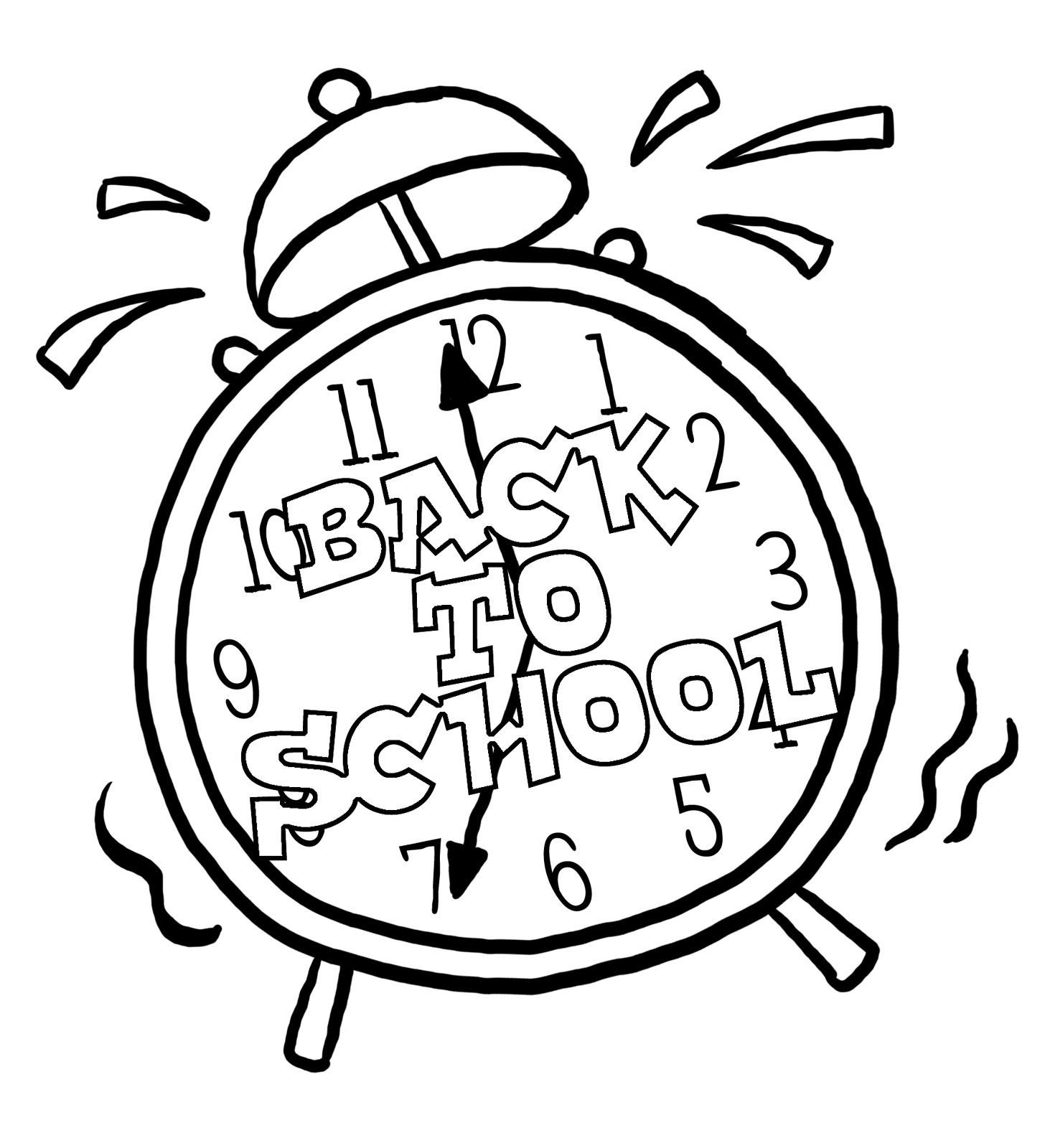 1456x1600 Clock Coloring Page Luxury Alarm Clock Coloring Pages Coloring