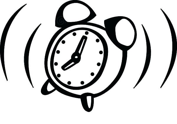 600x421 Alarm Clock Coloring Page Alarm Clock Vibrate Coloring Pages Alarm