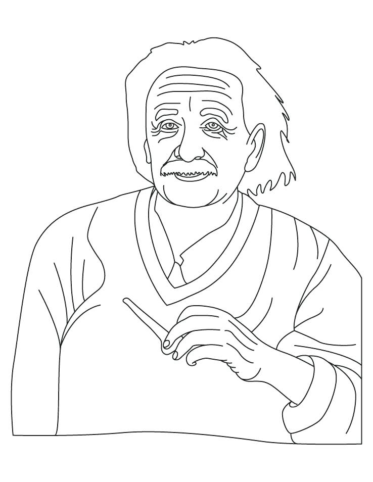 738x954 Coloring Pages Download Free Coloring Pages Albert Einstein