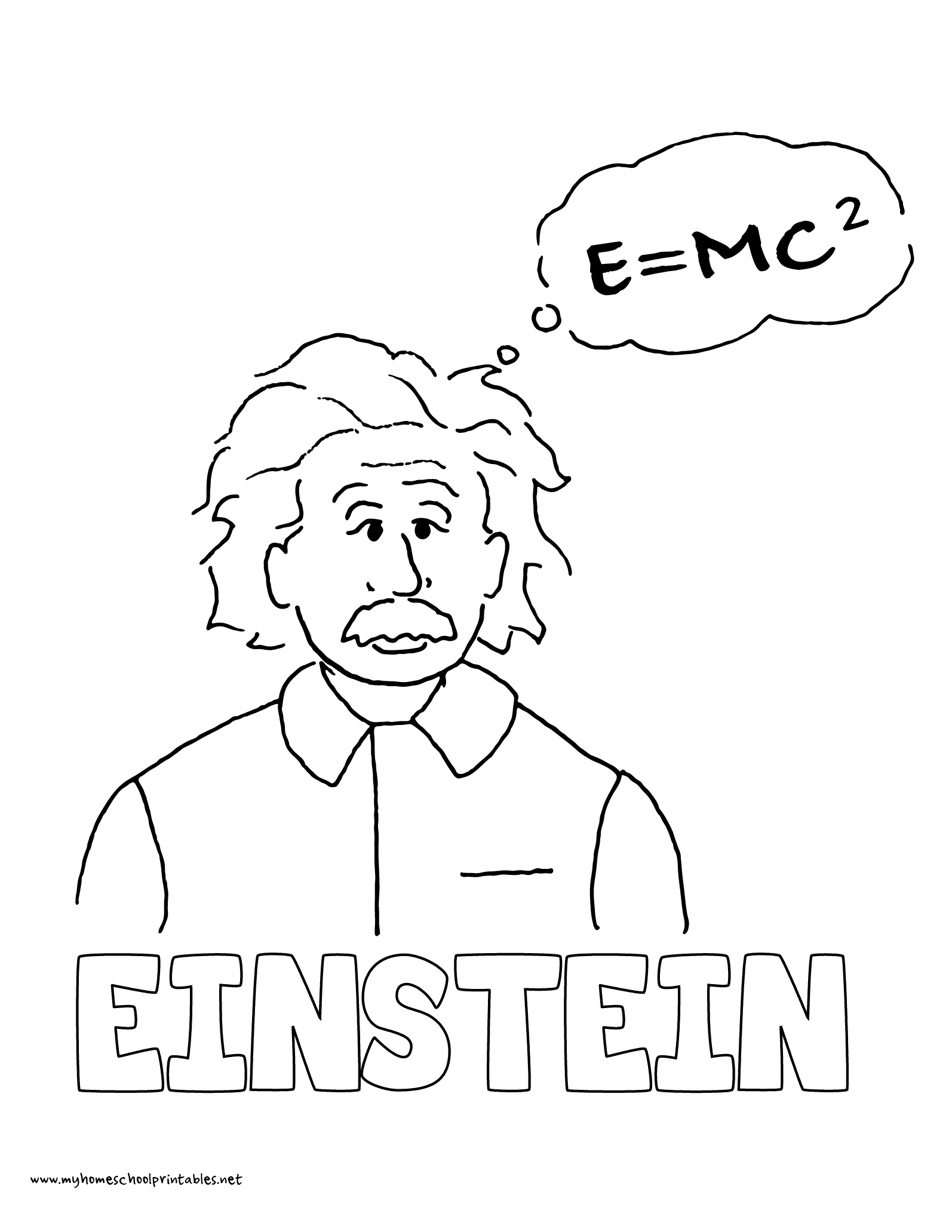 1594x2063 History Coloring Pages Volume Albert Einstein